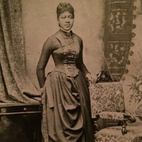 Vintage Photography | Studio Portrait | Boston, Massachusetts | c. 1870s - 1880s | Courtesy of @c0c0empressmandy (Her great, great grandmother)