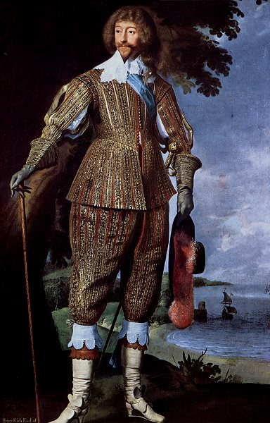 Daniel Mijtens portrait of Henry Rich I, the first Earl of Holland. 1640
