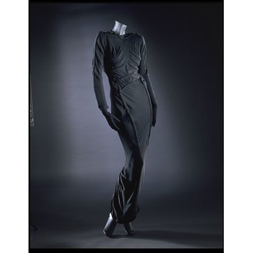 The Skeleton Dress by Elsa Schiaparelli, 1938; The Circus Collection, Victoria and Albert Museum, London