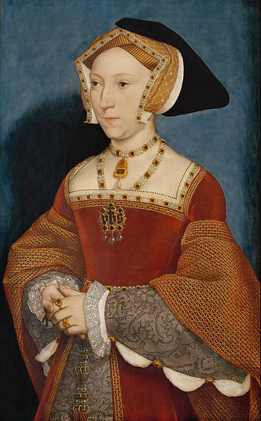 Hans Holbein the younger. Jane Seymour, Queen of England. 1536. Kunsthistorisches Museum, Vienna.