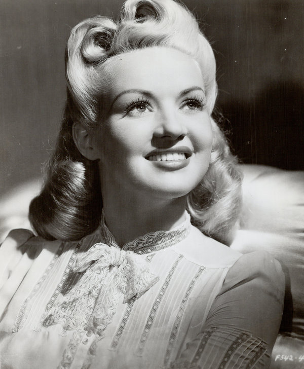 CANADA - MARCH 01: Betty Grable (Photo by Toronto Star Archives/Toronto Star via Getty Images)