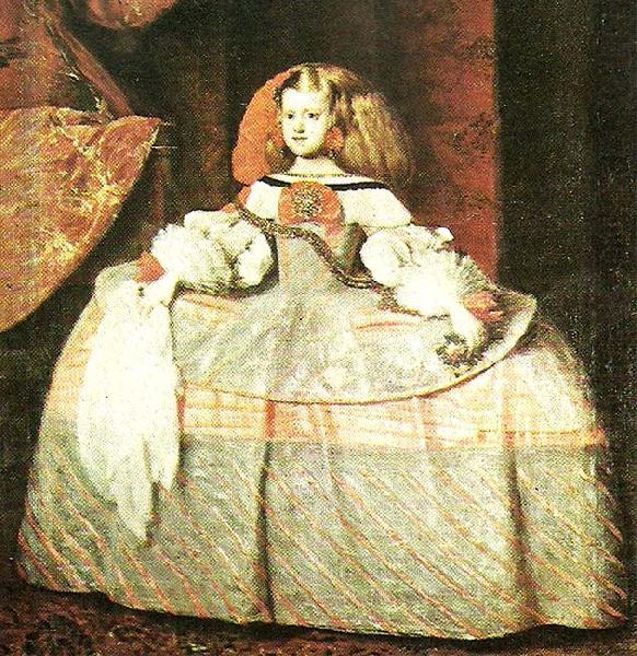 Diego Rodriguez de Silva y Valazquez, The Infanta Don Margarita de Austris, c. 1660
