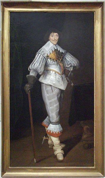 Portrait of Henri de Lorraine-Chaligny, Marquis de Mouy et comte de Chaligny. Museum of Fine Arts, Reims. France.