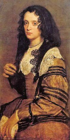 Diego Rodriguez de Silva y Valazquez, Young Lady, 1635