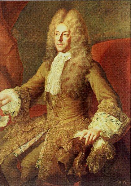 Matthew Prior. Simon Belle, ca. 1705.